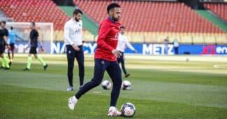 Image de l'article Une paire de crampons inédite aux pieds de Neymar face à Metz