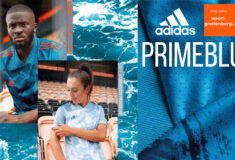 Image de l'article Chez adidas, des maillots de foot sont désormais entièrement fabriqués en matière recyclée