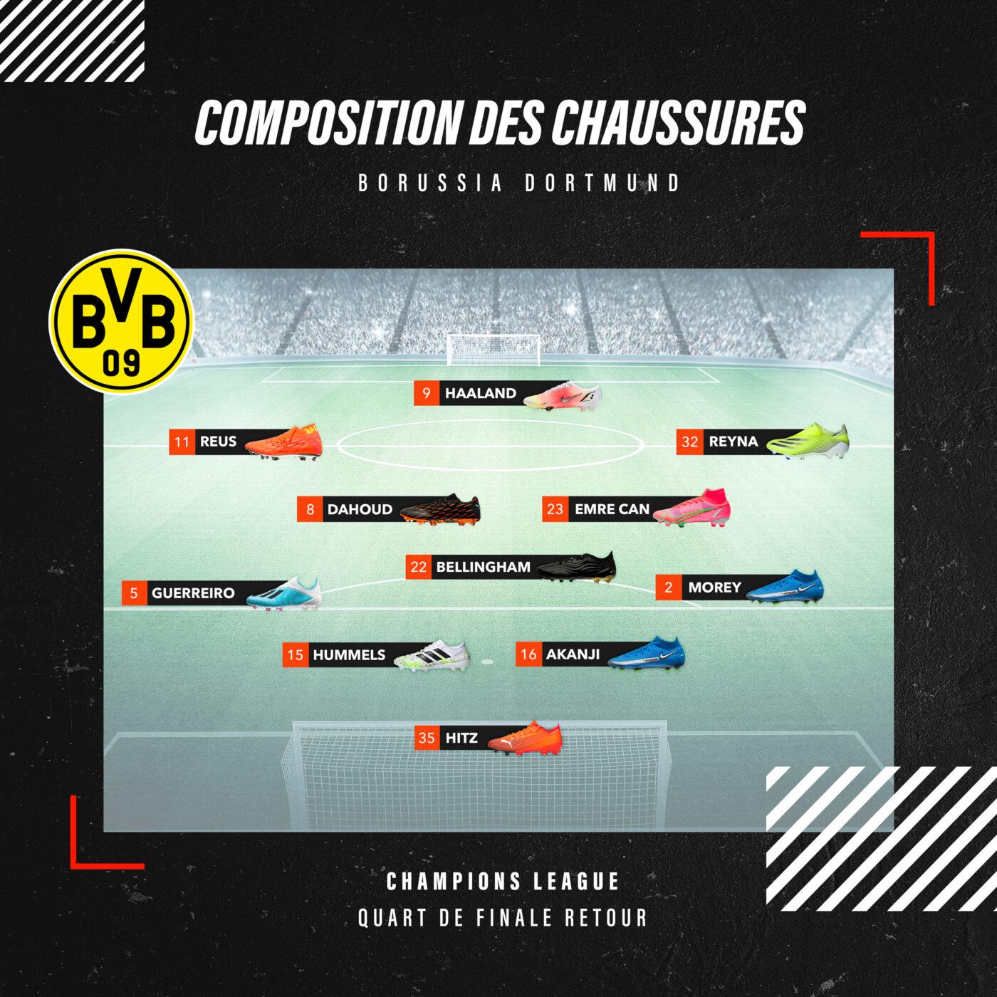 Compo Borussia Dortmund crampons