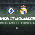 La composition de Chelsea – Real Madrid en crampons
