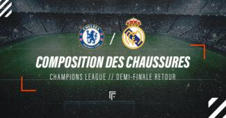 Image de l'article La composition de Chelsea – Real Madrid en crampons
