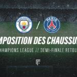 La composition de Manchester City – PSG en crampons