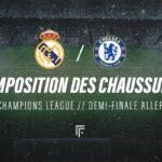 La composition de Real Madrid – Chelsea en crampons