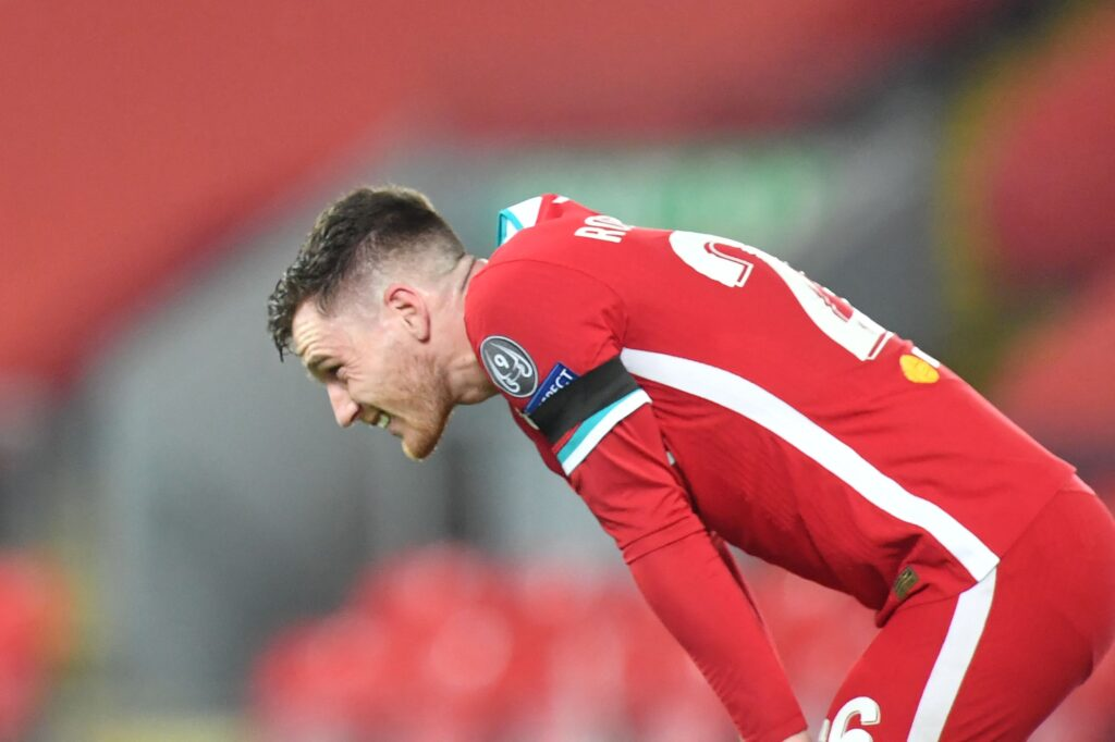Flocage Andy Robertson