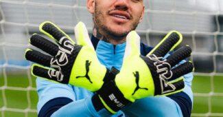 Image de l'article Les gants spéciaux d'Ederson sont désormais commercialisés par PUMA