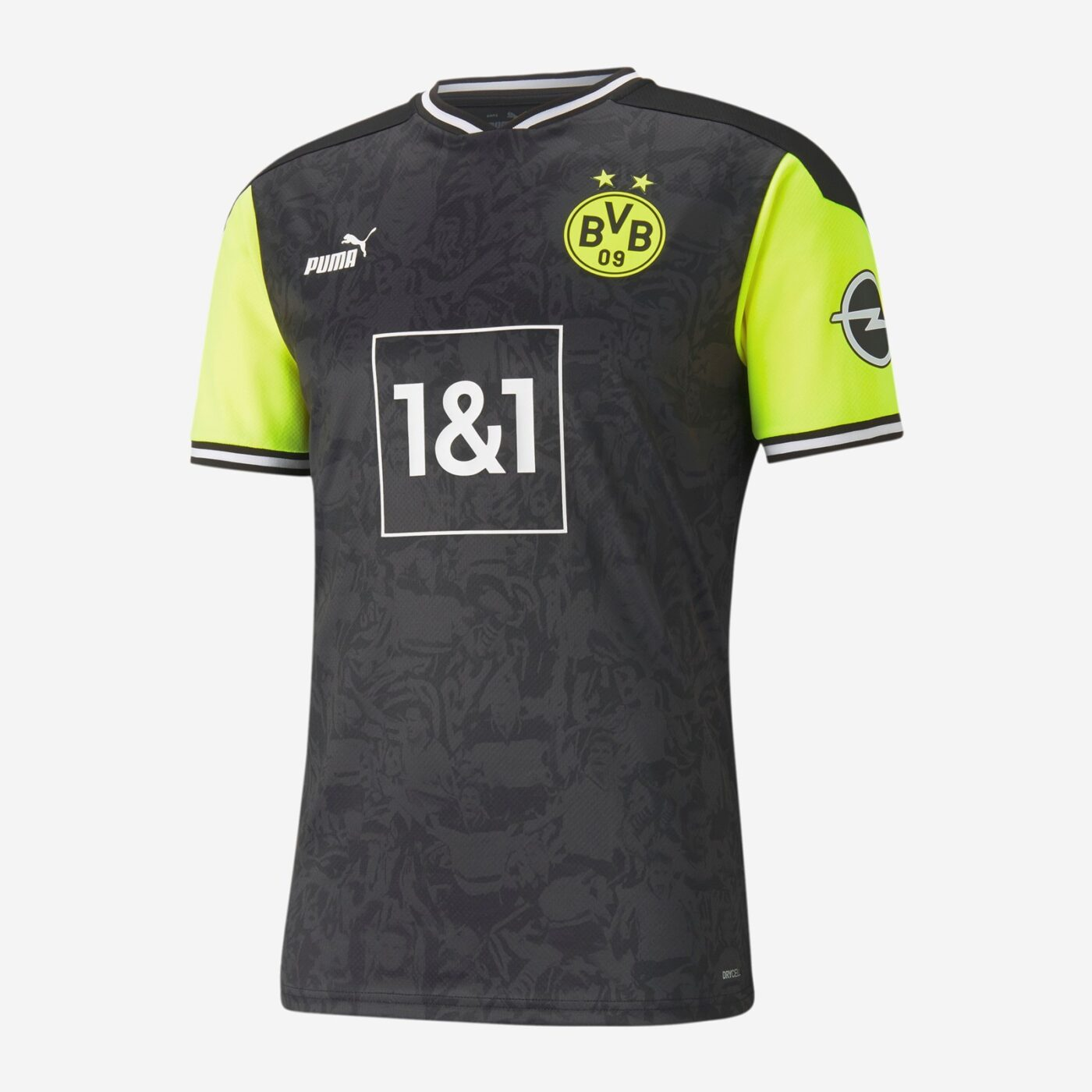Maillot rétro Borussia Dortmund PUMA années 90