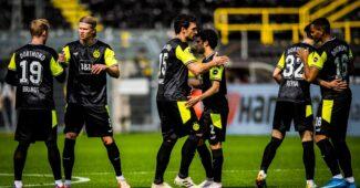 Image de l'article Le Borussia Dortmund dévoile un maillot inspiré des années 90 et en édition limitée