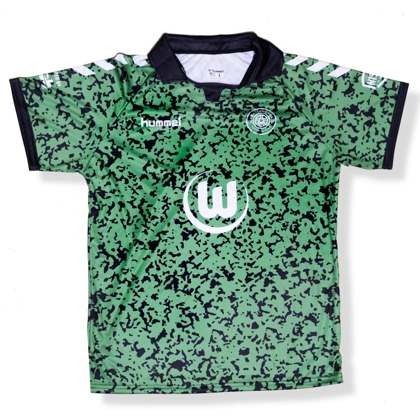 Maillot Chattanooga sponsor VfL Wolfsbourg
