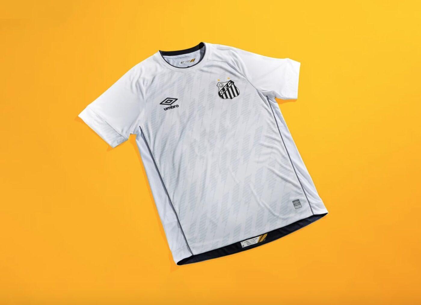 Maillot Santos domicile 2021-2022 Umbro