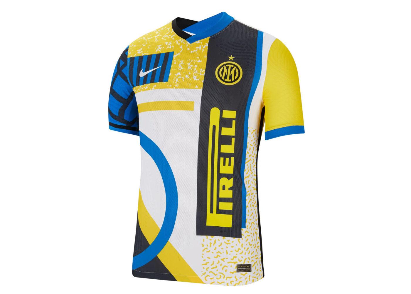 maillot fourth inter milan 2020 2021 nouveau logo