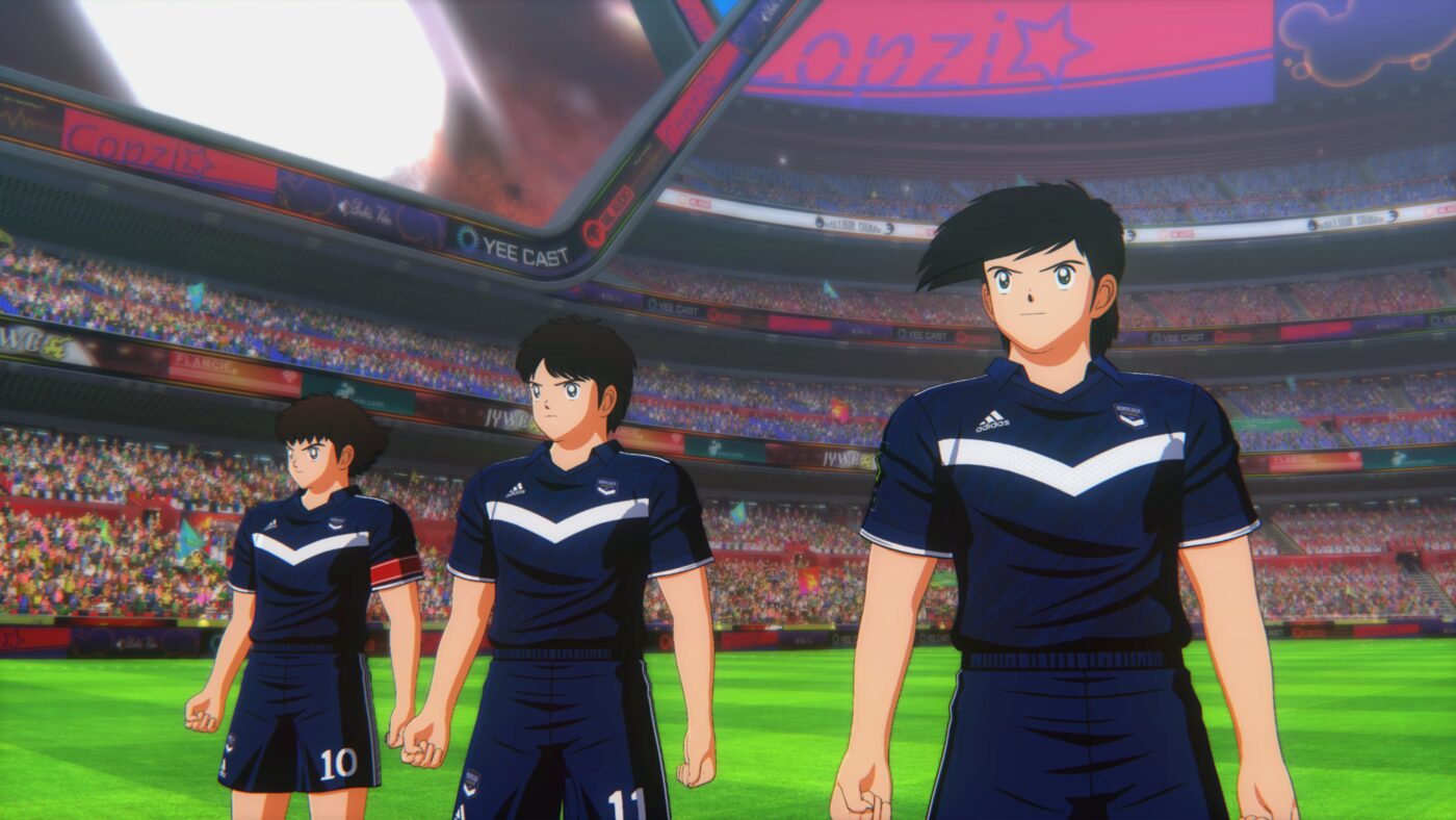 Maillot Girondins Bordeaux Captain Tsubasa : Rise of New Champions.
