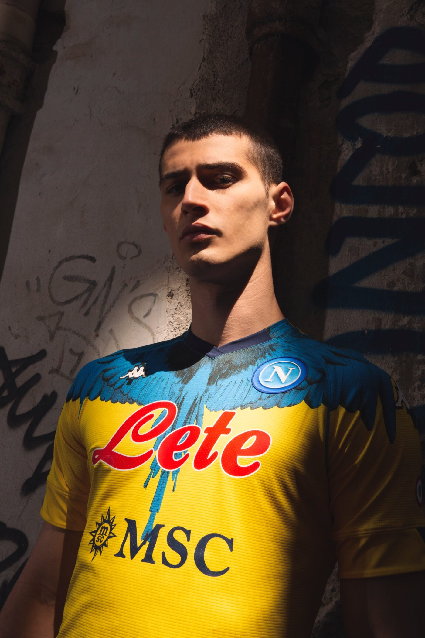 Maillot Napoli Inter Milan Marcelo Burlon