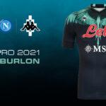 Contre l'Inter, le Napoli portera un maillot imaginé par un créateur de mode!
