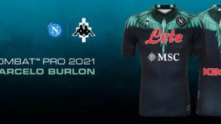 Image de l'article Contre l'Inter, le Napoli portera un maillot imaginé par un créateur de mode!