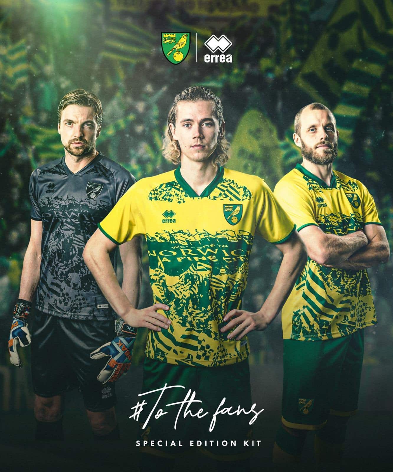 Maillot Norwich City supporter