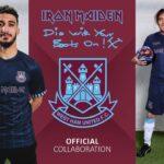 Iron Maiden est de retour sur le maillot de West Ham United!