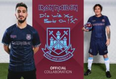 Image de l'article Iron Maiden est de retour sur le maillot de West Ham United !