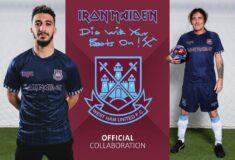 Image de l'article Iron Maiden est de retour sur le maillot de West Ham United!