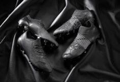 Image de l'article Le cuir et la technologie Lazertouch s'invitent sur les crampons PUMA