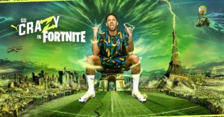 Image de l'article Contre Manchester City, Neymar va porter des crampons spéciaux aux couleurs de Fortnite