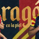 Huesca célèbre la journée de l'Aragon avec un maillot spécial