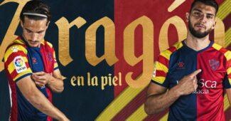 Image de l'article Huesca célèbre la journée de l'Aragon avec un maillot spécial
