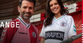 Image de l'article hummel réédite des maillots iconiques de Southampton