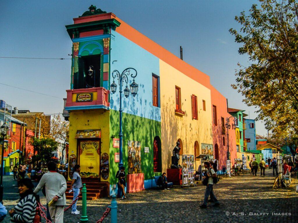 Rue Caminito Buenos Aires