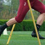 Une paire de crampons mystère aux pieds de Sandro Tonali