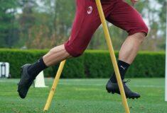 Image de l'article Une paire de crampons mystère aux pieds de Sandro Tonali