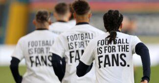 Image de l'article Un tee-shirt contre la Super League portés contre les équipes du Big 6 de Premier League