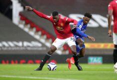 Image de l'article Quand Axel Tuanzebe (Man Utd) joue avec une montre au poignet en match officiel!