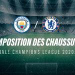 La composition de Manchester City – Chelsea en crampons (finale Champions League)