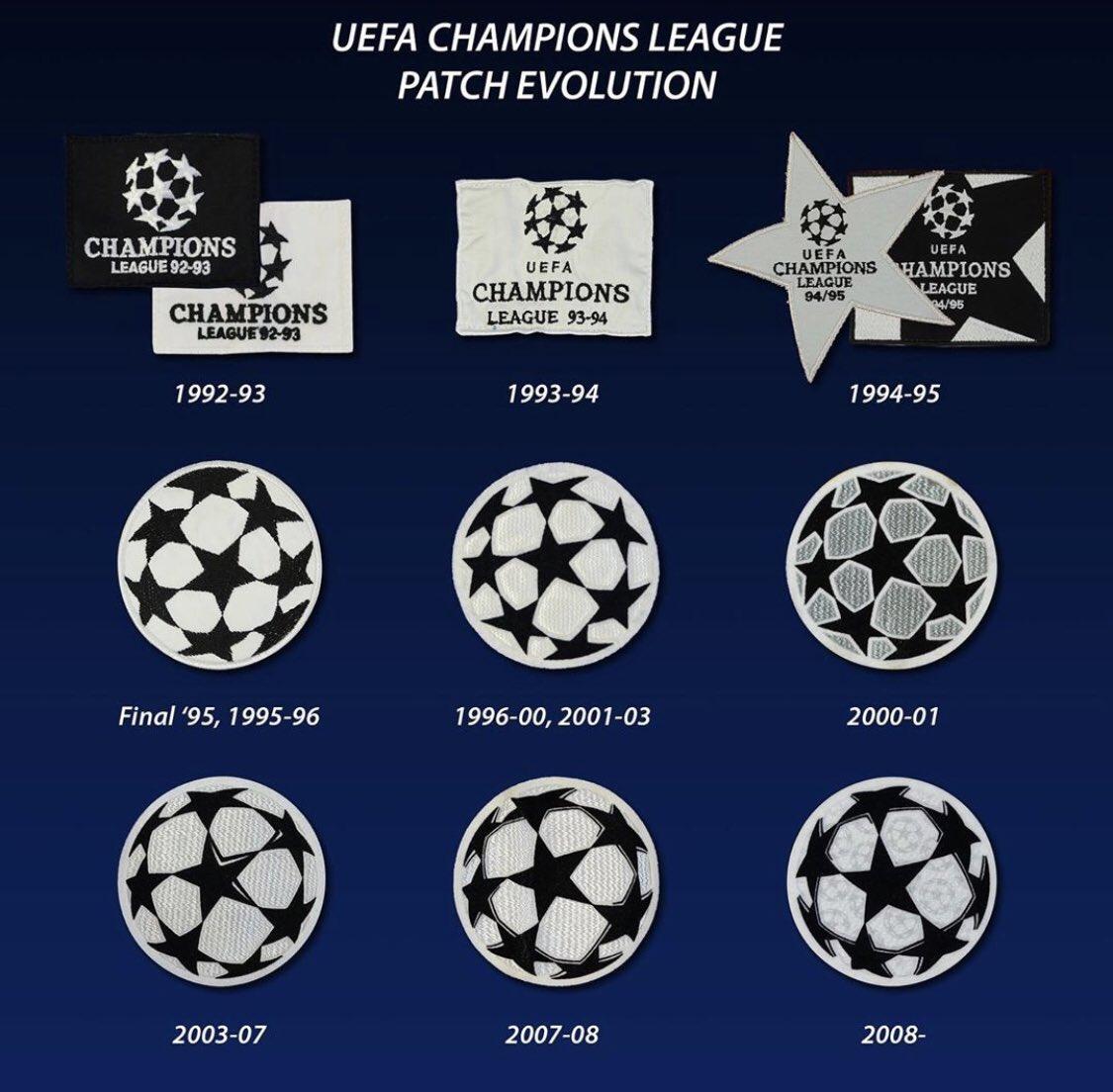 evolution badge champions league