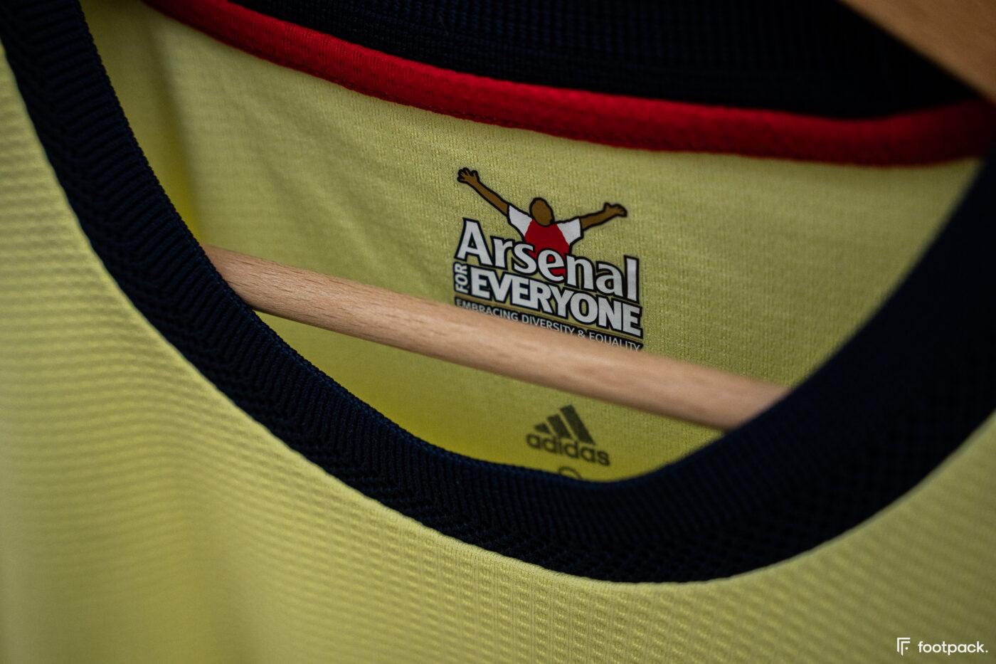Maillot Arsenal 2021-2022 exterieur - footpack