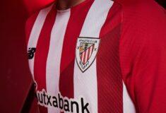 Image de l'article Les maillots de l'Athletic Bilbao 2021-2022 dévoilés par New Balance