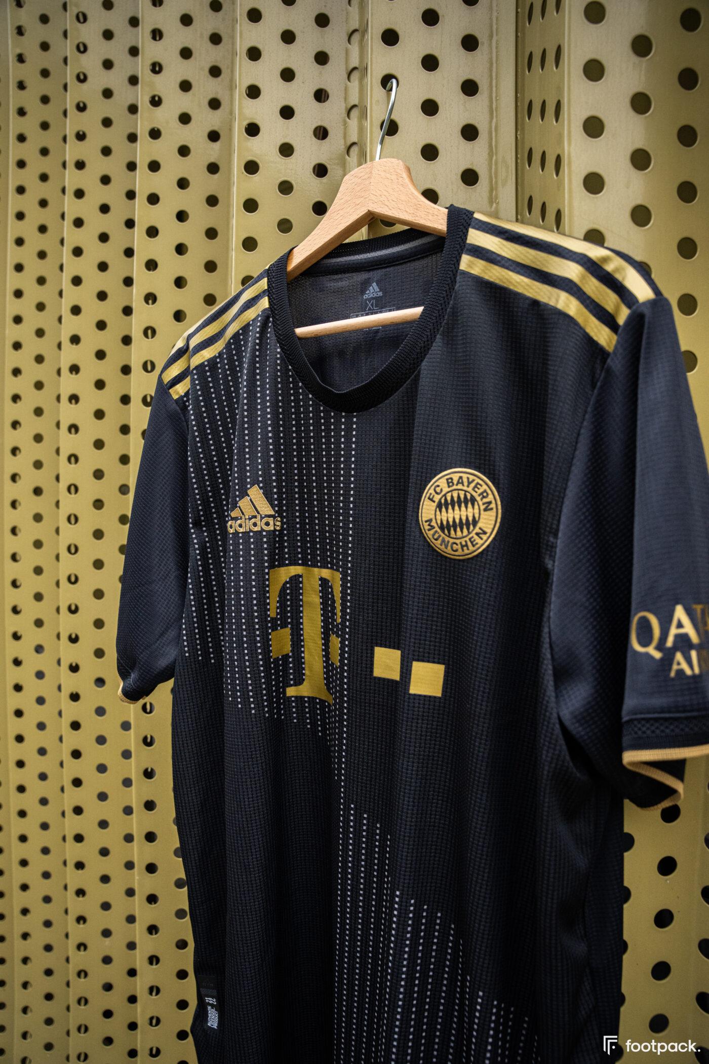 Maillot Bayern Munich 2021-2022 extérieur - footpack