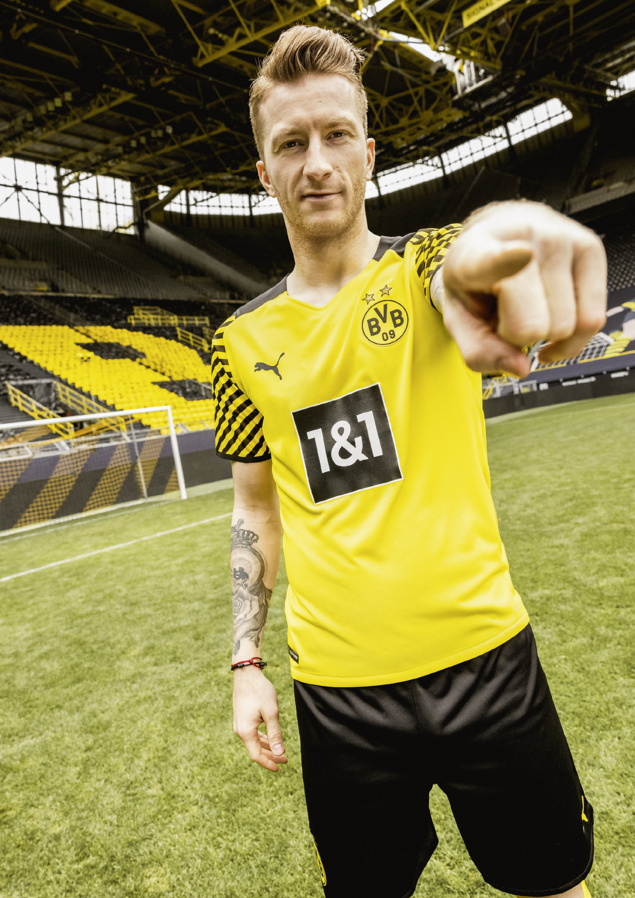 Maillot Borussia Dortmund 2021-2022 domicile PUMA