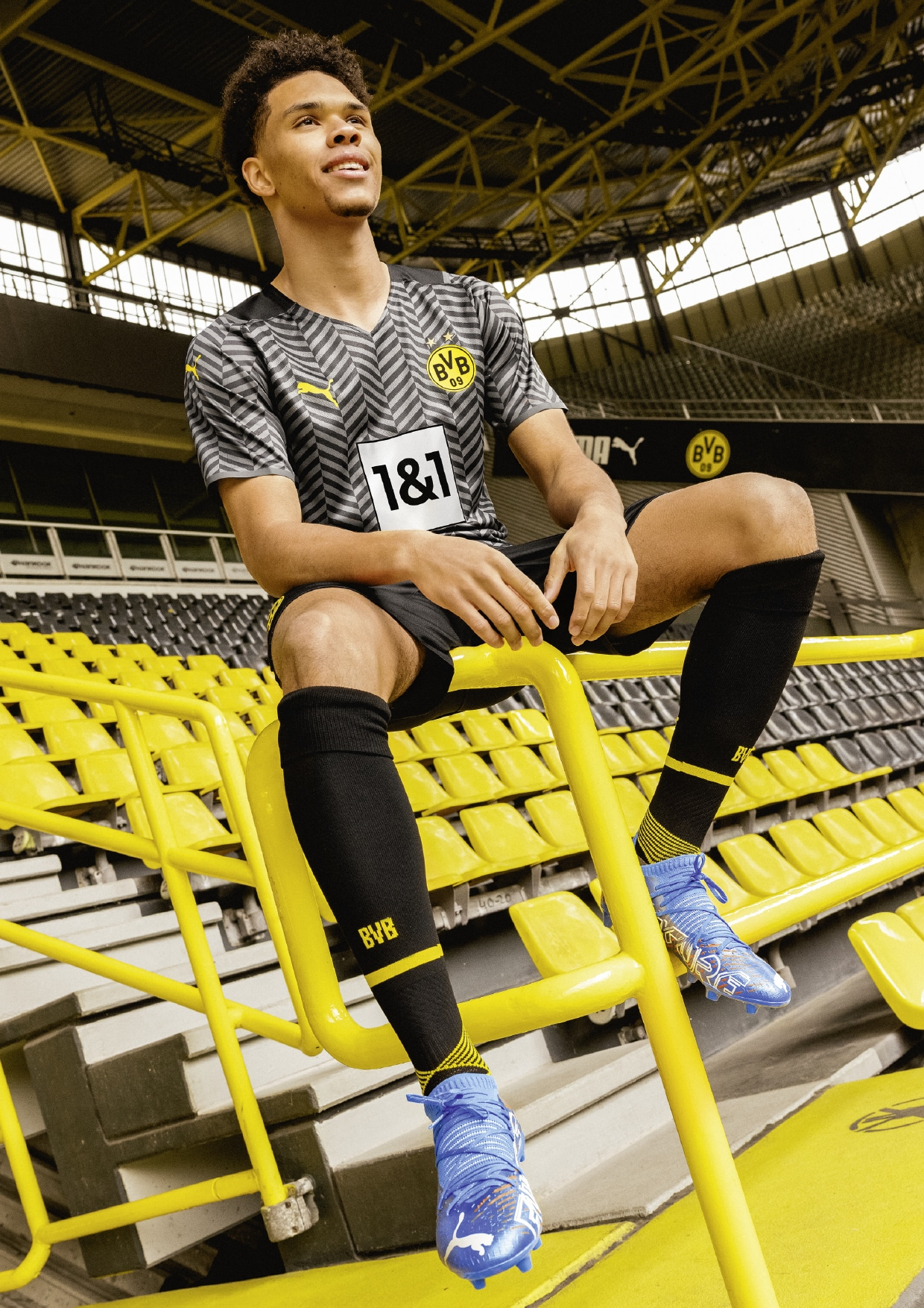 Maillot Borussia Dortmund exterieur 2021/22 PUMA