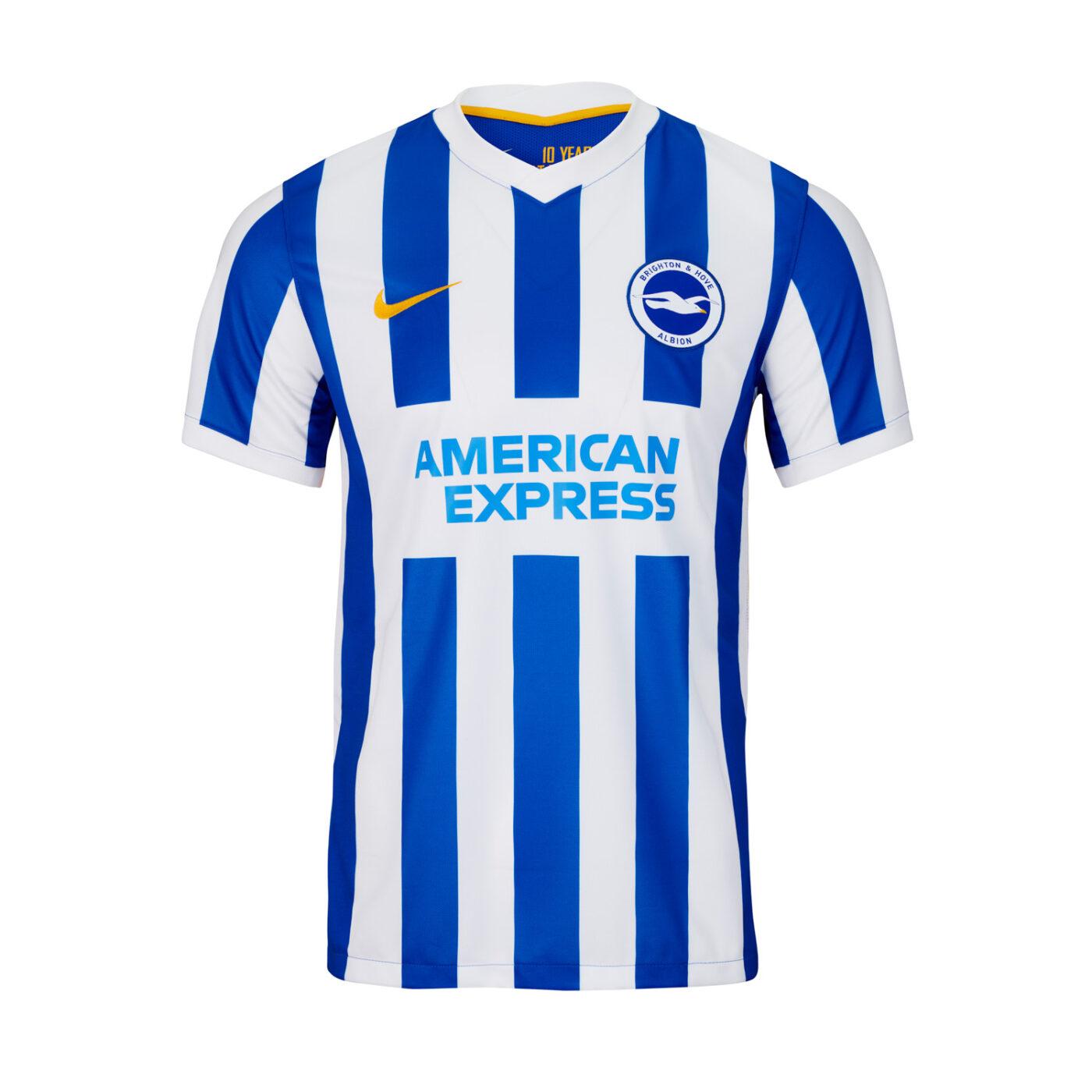Maillot Brighton & Hove Albion 2021-2022 domicile