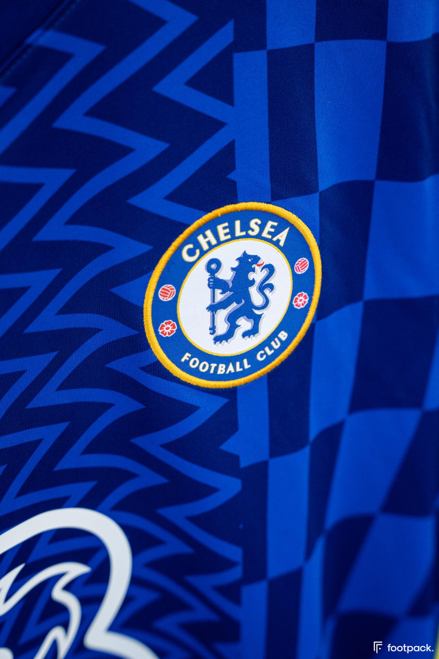 Maillot Chelsea 2021-2022 domicile - footpack