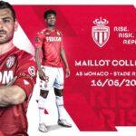 L'AS Monaco avec un maillot collector contre Rennes