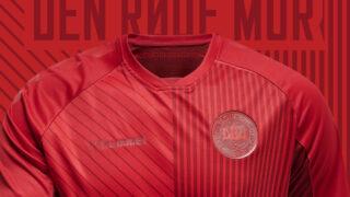 Le Danemark dévoile un maillot third inspiré de son histoire avec hummel