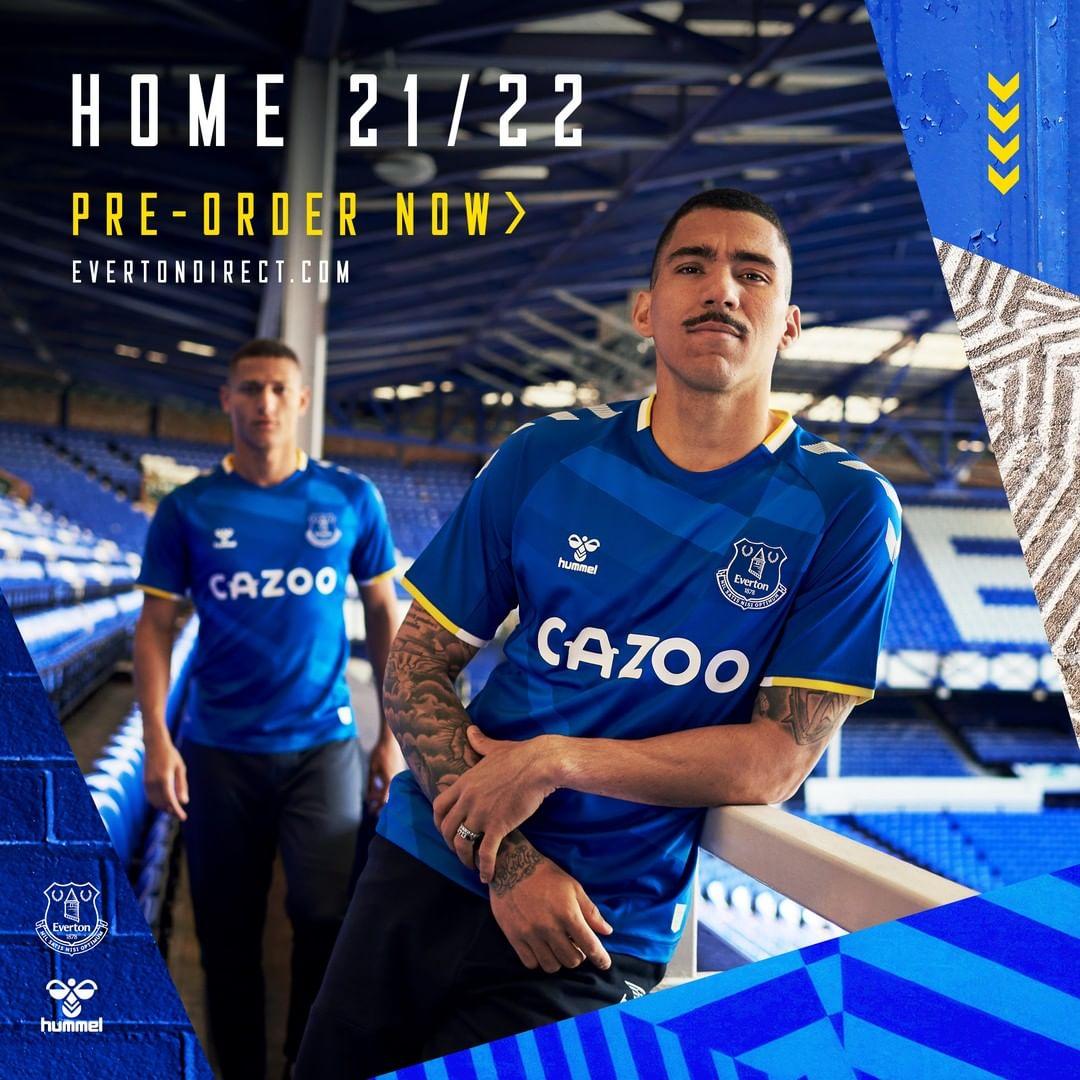 Maillot Everton 2021-2022 hummel