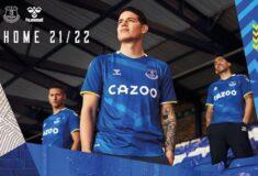Image de l'article Les maillots d'Everton 2021-2022 dévoilés par hummel