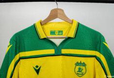 Image de l'article Le FC Nantes réédite son maillot de champion de France 2000-2001 !