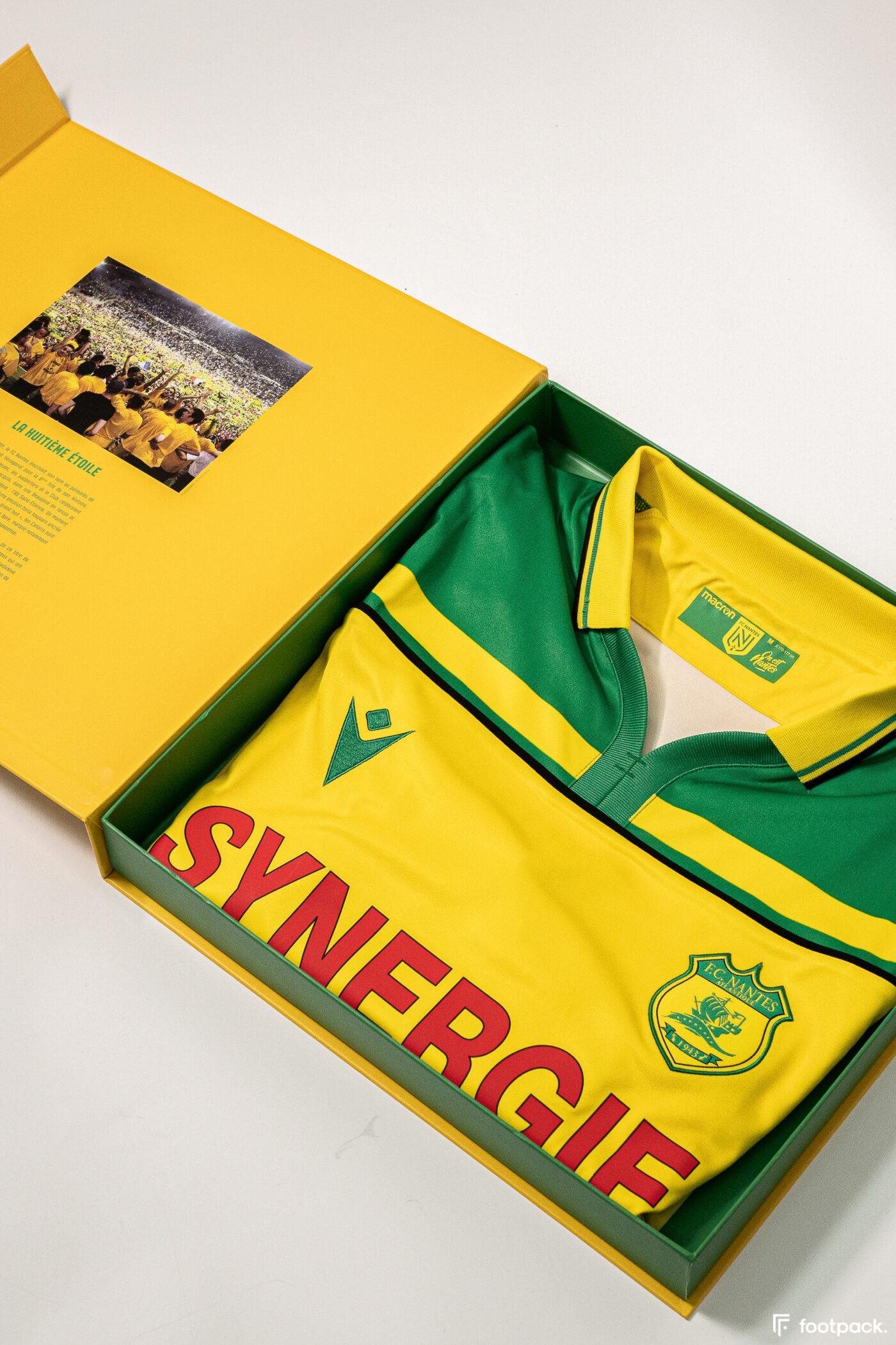 Maillot FC Nantes 2000-2001 réédition