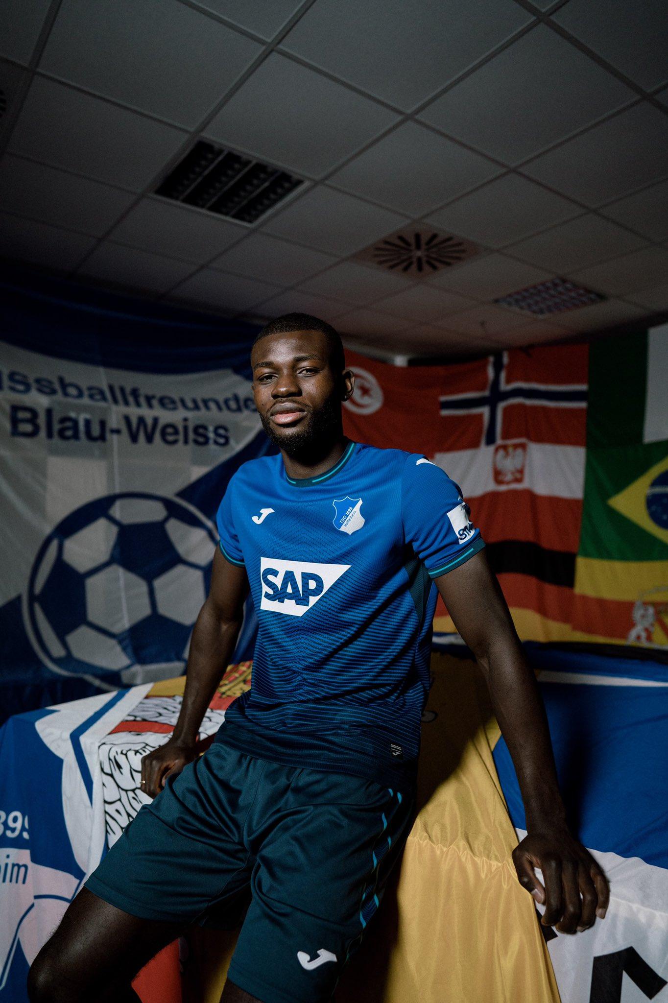 Maillot TSG Hoffenheim 2021-2022 Joma