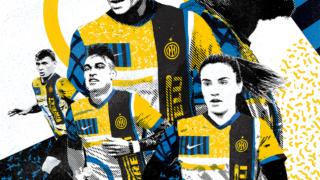 Image de l'article Contre la Roma, l'Inter va jouer avec son nouveau maillot «I M»