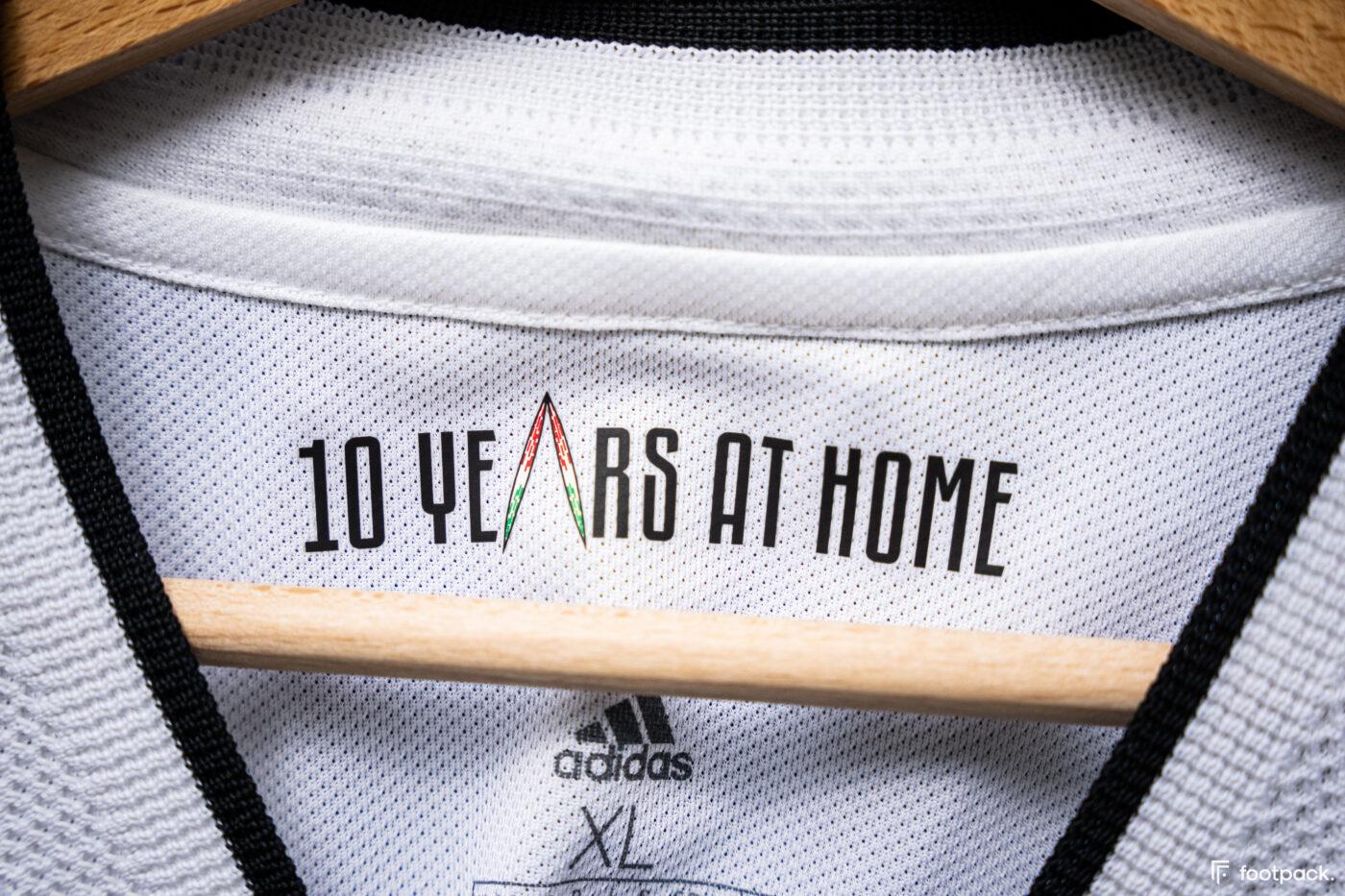 Maillot Juventus 2021-2022 domicile - footpack